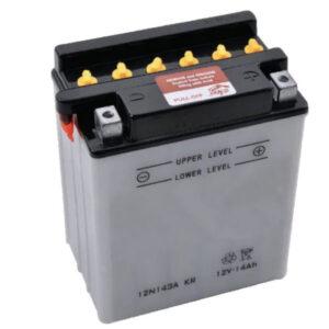 Batterie 12V 14Ah + Säurepaket
