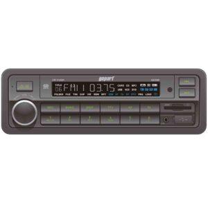 Radio mit USB Anschluss, MP3 Wiedergabe, geringe Einbautiefe 90mm