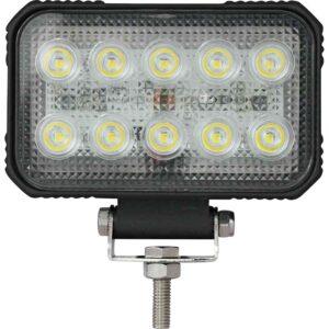 LED-Arbeitsscheinwerfer 15W 1900lm, rechteckig, Nahfeldausleuchtung