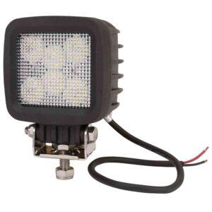 LED-Arbeitsscheinwerfer 42W 3780lm, quadtratisch, Nahfeldausleuchtung