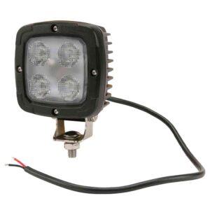 LED-Arbeitsscheinwerfer 40W 4000lm, quadtratisch, Nahfeldausleuchtung