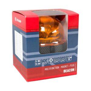 LED-Rundumleuchte, magnetisch, mit Autostecker