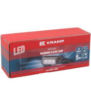 LED-Blitzleuchte orange, 3 LED