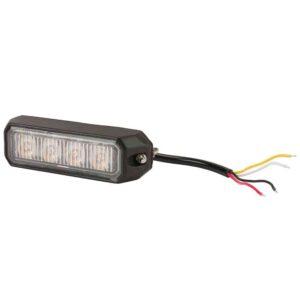 LED-Blitzleuchte orange, 4 LED