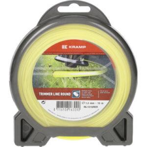 Mähfaden Ø 1.3mm 15m rund gelb