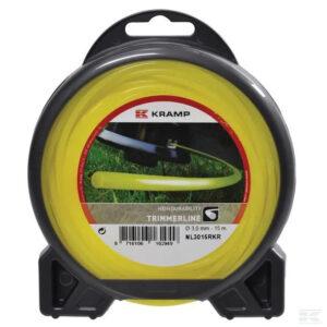 Mähfaden Ø 1.6mm 15m rund gelb