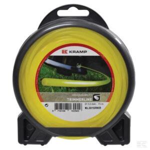Mähfaden Ø 2mm 15m rund gelb