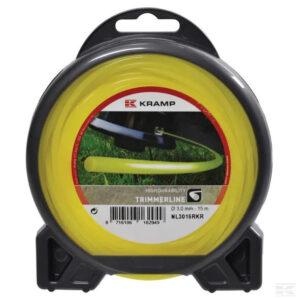 Mähfaden Ø 2.65mm 15m rund gelb