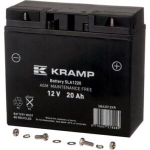 Batterie 12V 20Ah geschlossen
