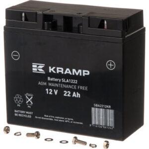 Batterie 12V 22Ah geschlossen