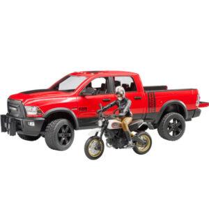 +Ram 2500 + Ducati racer
