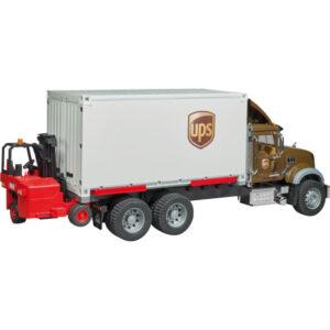 +Mack UPS + forklift