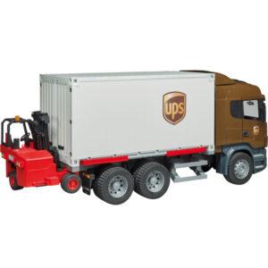 +Scania UPS + forklift
