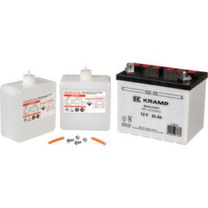 Batterie 12V 24Ah inkl. Säurepaket