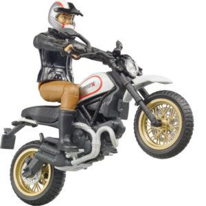 +Ducati desert sled + driver