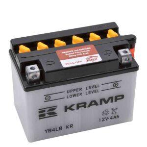 Batterie 12V 4Ah + Säurepaket