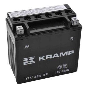 Batterie 12V 12Ah + Säurepaket